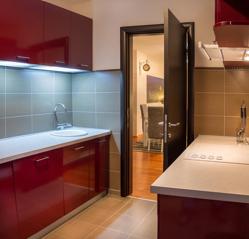 Apart Hotel Feel Belgrade | Feel Belgrade Apartmani | Apartman A 205| Kuhinja