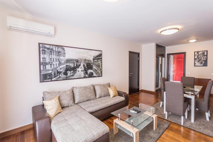 Apartman u Beogradu na dan Business Lux | Feel Belgrade Apartmani | Kuhinja