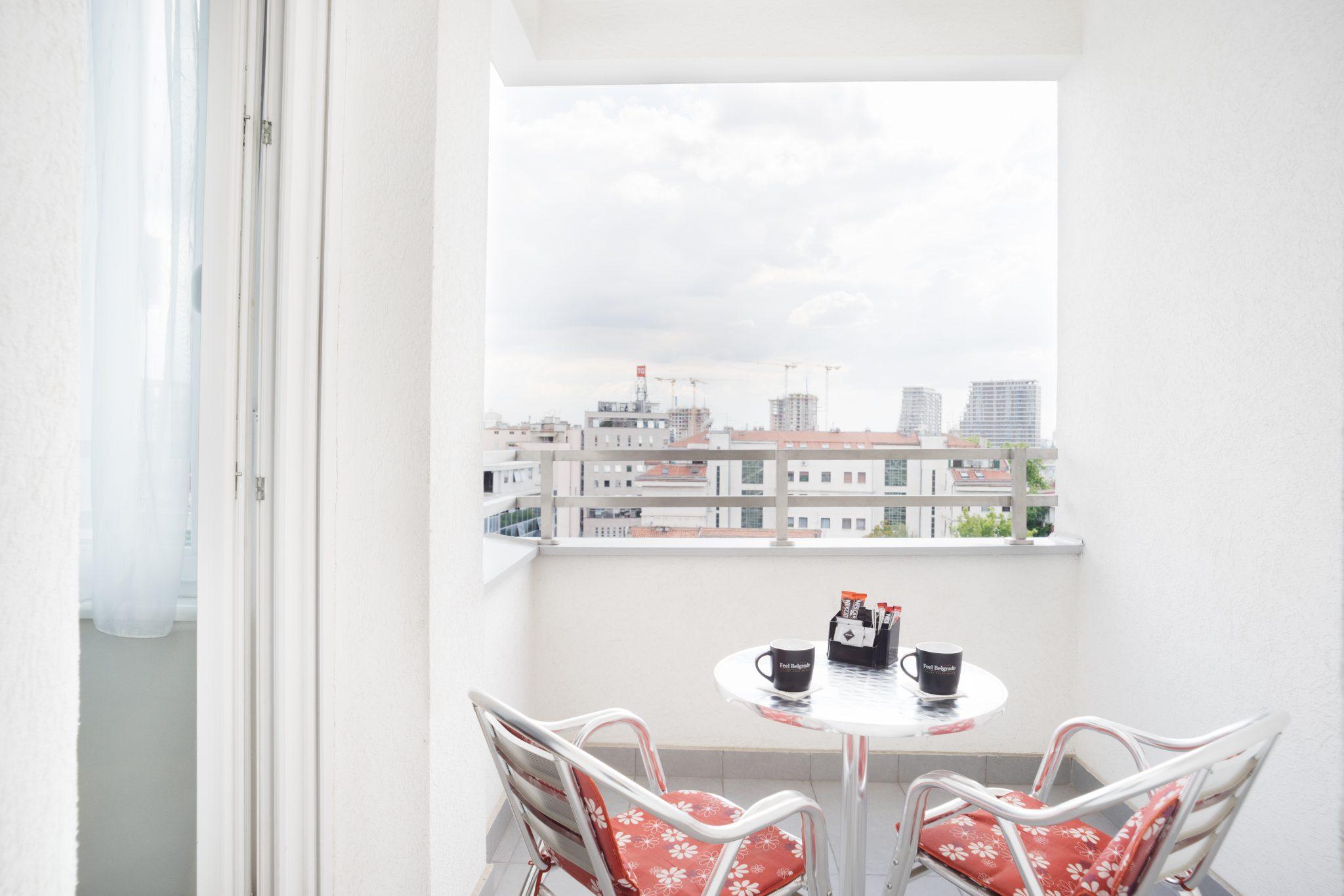 Apartman C 205 - Balkon